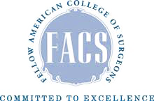 FACS Seal on Dr Khitin Website